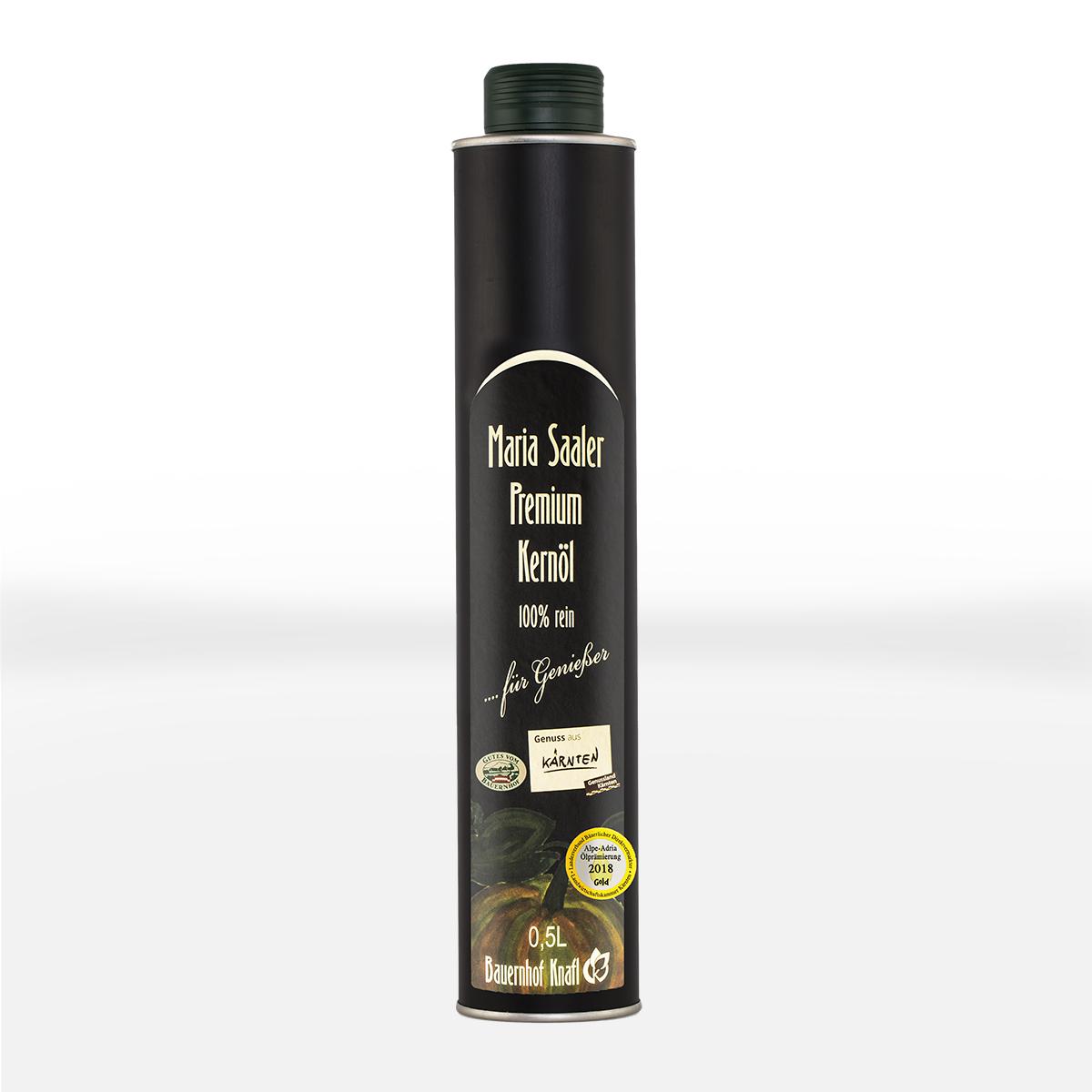 MARIA SAALER Premium – Kürbiskernöl 0,5l